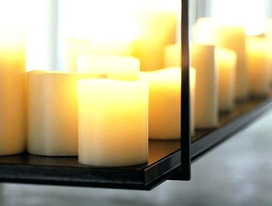 Flameless Candle Chandeliers – Stephenphilms (View 4 of 10)