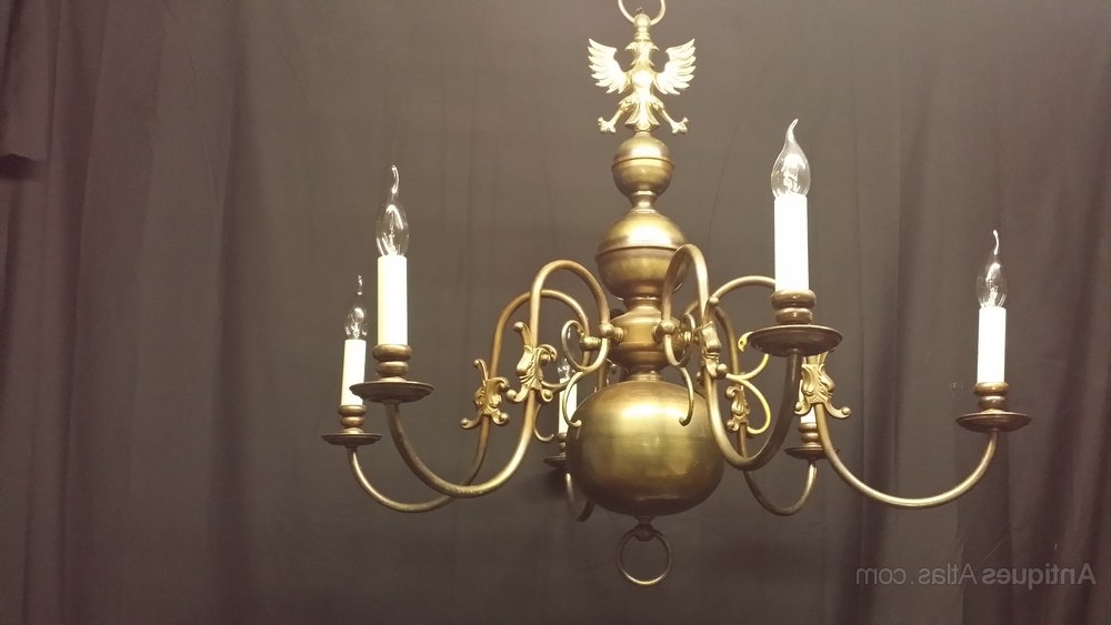 Flemish Brass Chandeliers Intended For Widely Used Brass Flemish Chandeliers – Flemish Chandeliers (View 8 of 10)