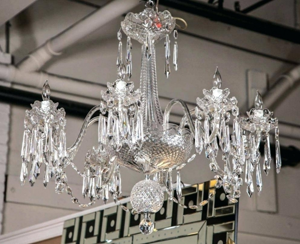 Florian Crystal Chandeliers Within Most Current Chandelier ~ Florian Crystal Chandelier Lighting Setup For Group (View 7 of 10)