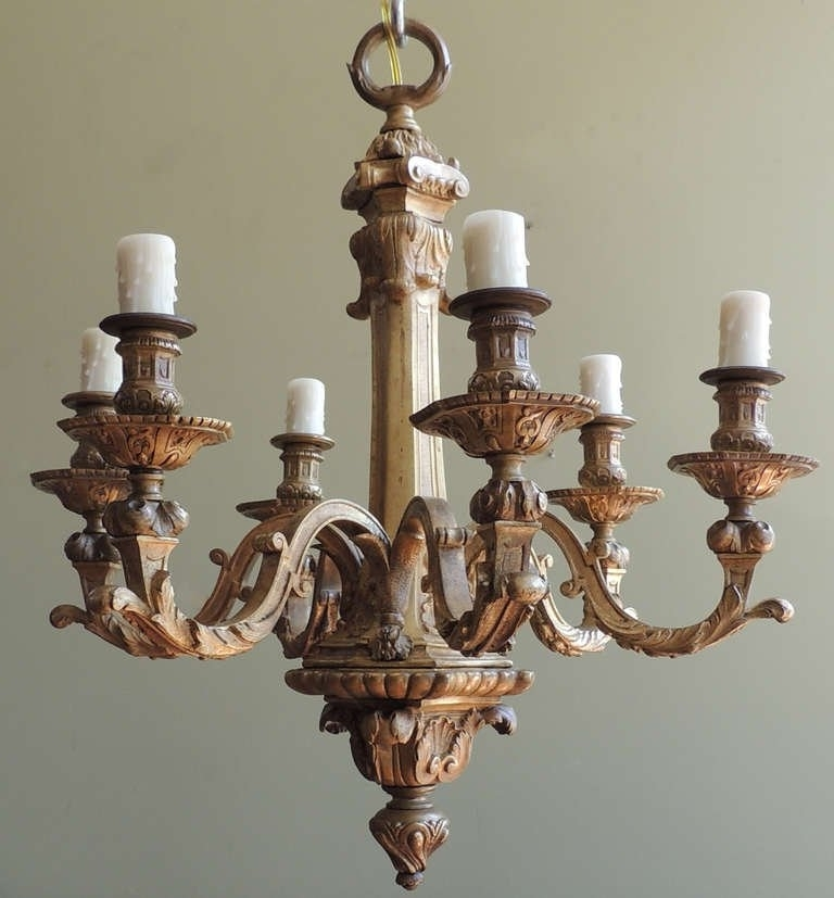 French Bronze Chandelier With Fashionable 19Th C French Bronze Chandelier At 1Stdibs (View 7 of 10)
