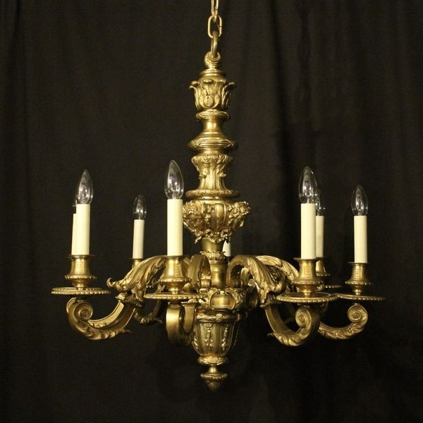 French Bronze Chandelier With Regard To Well Known Antique French Chandeliers – The Uk's Premier Antiques Portal (View 8 of 10)