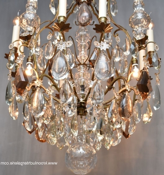 French Chandelier In The Style Of Louis Xv 'lustre Cage' Ref (View 5 of 10)