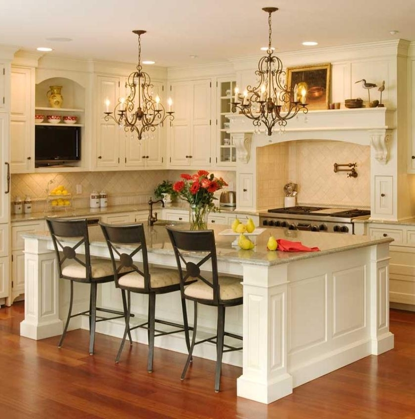 French Country Chandeliers For Kitchen For Preferred Incredible French Country Island Lighting Lighting French Country (View 3 of 10)