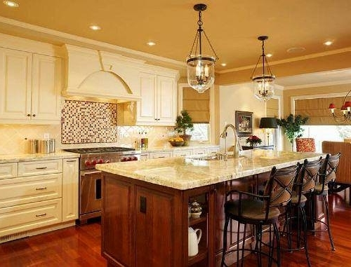 French Country Kitchens (View 7 of 10)