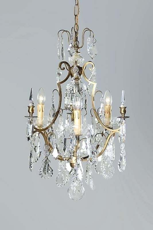 French Crystal Chandeliers For Well Known Antique French Crystal Chandeliers Chandelier Appealing French (View 5 of 10)