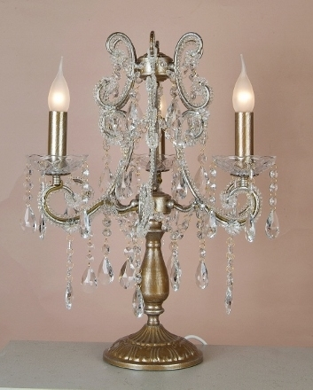 Fresh Furniture Regarding Small Chandelier Table Lamps (View 5 of 10)