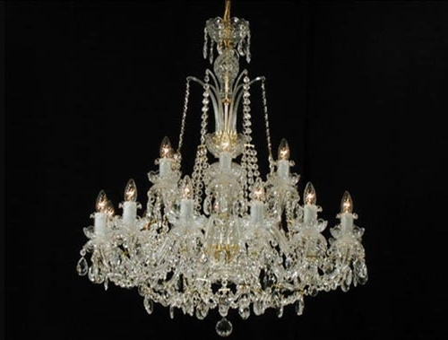 Georgian Chandeliers With Recent Cl2D 18 Classic Georgian Chandelier – The Crystal Chandelier Company (View 4 of 10)