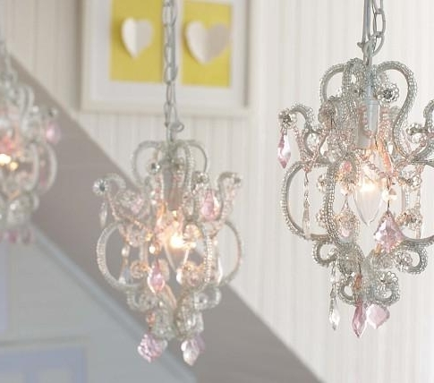 Gianna Mini Chandeliers In 2017 Mini Chandelier – Pottery Barn Kids (Gallery 1 of 10)