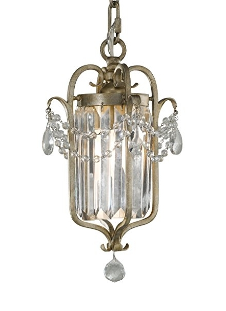 Gianna Mini Chandeliers With 2018 Feiss F2474/1Gs Gianna Collection 1 Light Mini Duo Chandelier (View 7 of 10)