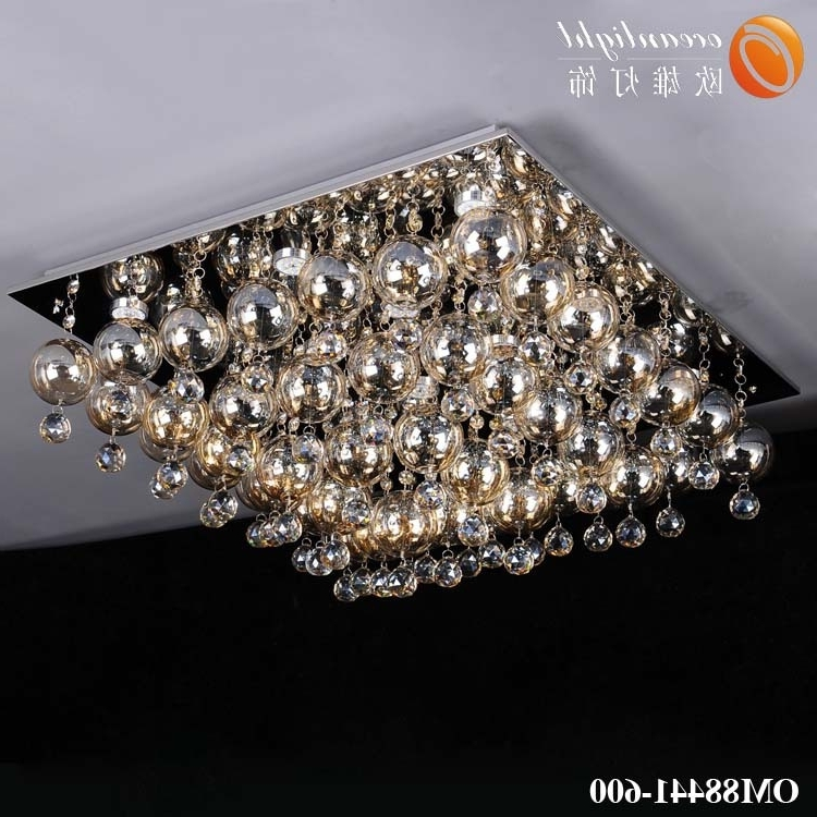 Glass Drop Chandelier Lighting,low Ceiling Chandelier Om88441 600 Throughout Most Current Low Ceiling Chandelier (View 5 of 10)