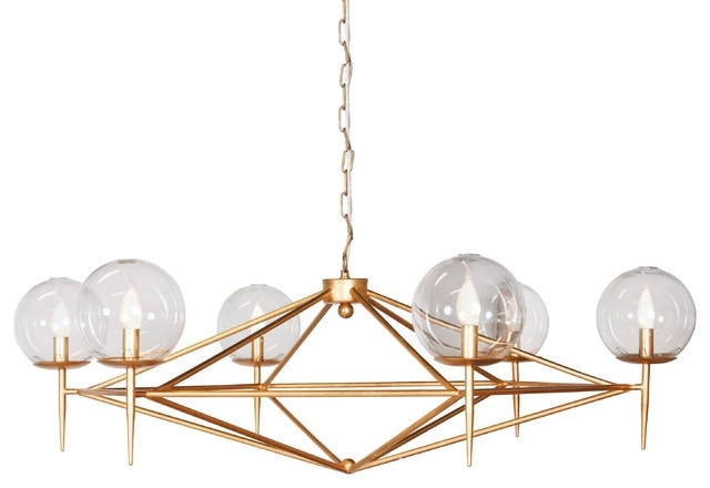 Gold Chandelier – Greatby8 Throughout Well Liked Retro Chandeliers (View 3 of 10)