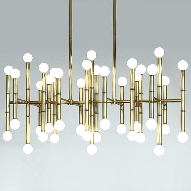 Gold Modern Chandelier In Newest Chandeliers Contemporary As Well As Best Gold Modern Chandelier (View 3 of 10)