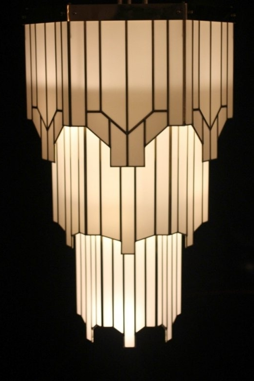 Good Art Deco Chandeliers #5 Lovable Art Deco Chandelier 17 Best Intended For Most Popular Art Deco Chandelier (Gallery 3 of 10)