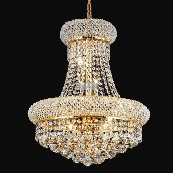 Gorgeous Crystal Lighting Chandelier Modern Simple Elegant For Fashionable Simple Glass Chandelier (Gallery 10 of 10)