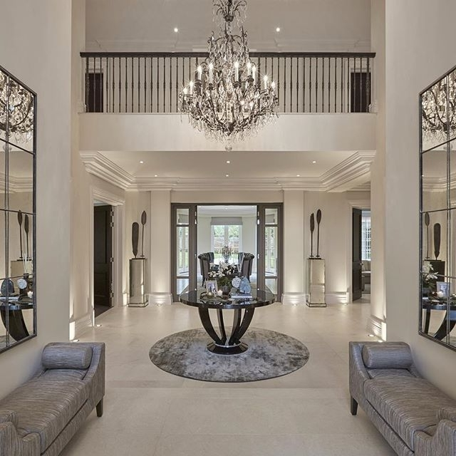 Hallway Chandeliers With Regard To Trendy Home Design : Engaging Entry Hall Chandeliers Hallway Chandelier (View 6 of 10)