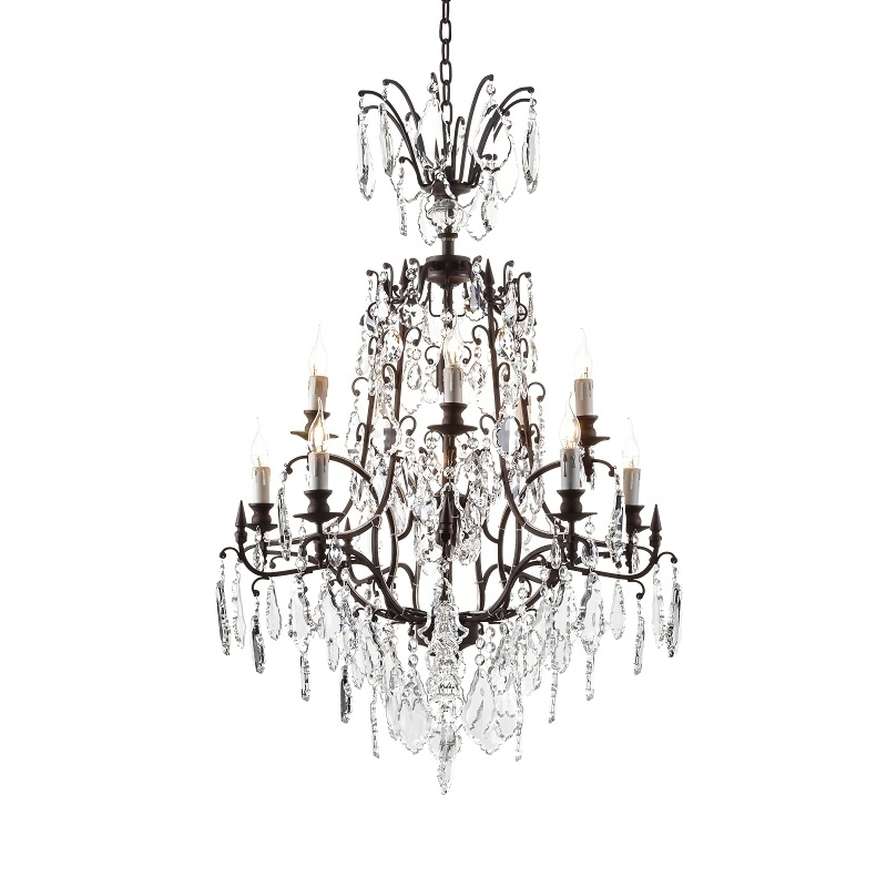 Halo Established Baroque Chandelier 80Cm For Most Up To Date Baroque Chandelier (View 6 of 10)