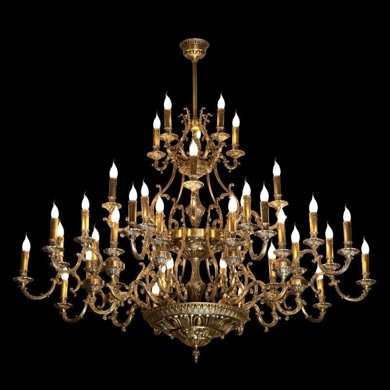 High End Chandeliers And Unique Crystal Chandeliers Pertaining To Famous Giant Chandeliers (Gallery 7 of 10)