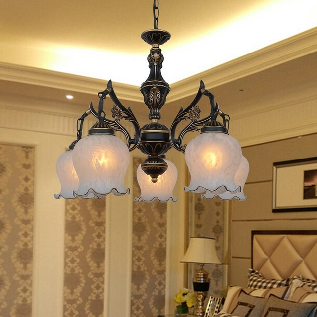 High Quality Loft Style Suspension Retro Chandeliers 110V/220V E27 With Regard To Widely Used Retro Chandeliers (View 4 of 10)