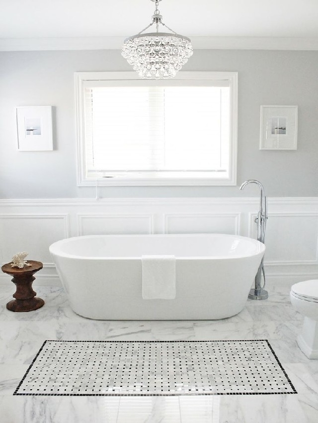 Home Design Ideas With Regard To Chandeliers For The Bathroom (Gallery 4 of 10)