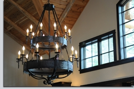 Home Design : Pretty Large Iron Chandeliers French Country Wrought Within Well Liked Large Iron Chandelier (View 6 of 10)