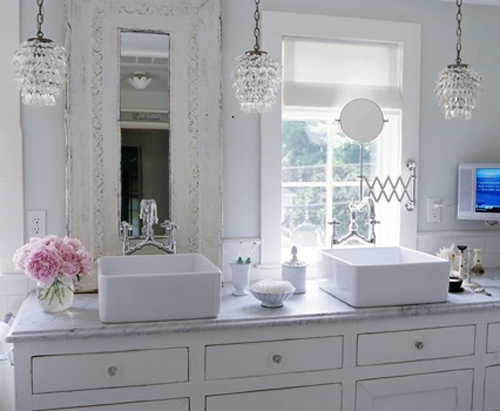 Home Regarding Well Liked Crystal Bathroom Chandelier (Gallery 2 of 10)