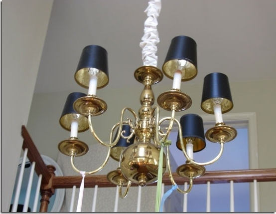 In My Own Style For Black Chandeliers With Shades (View 5 of 10)
