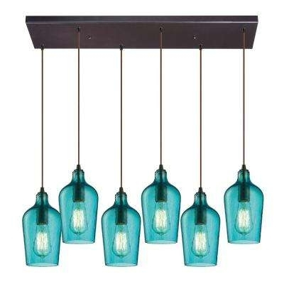 Incredible Turquoise Pendant Light Blue Pendant Lights Hanging With Well Known Turquoise Pendant Chandeliers (Gallery 5 of 10)