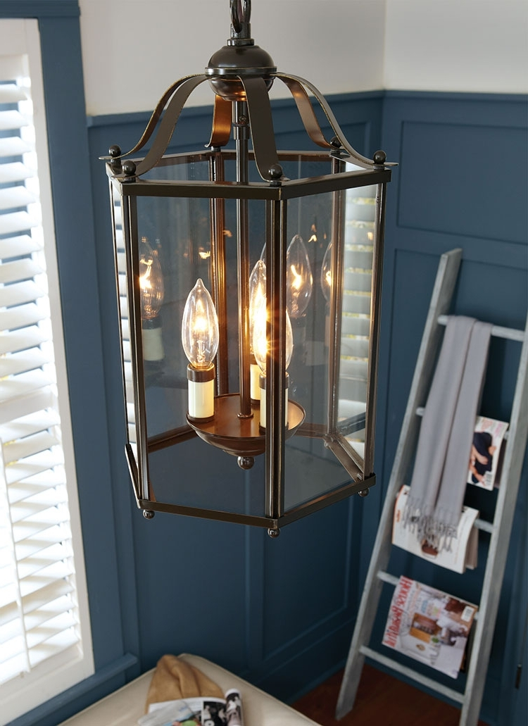 Indoor Lantern Chandelier With 2017 Sea Gull Lighting (View 5 of 10)