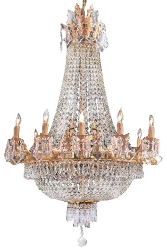 Interesting Traditional Crystal Chandeliers French Empire Crystal In Most Recently Released French Crystal Chandeliers (View 7 of 10)