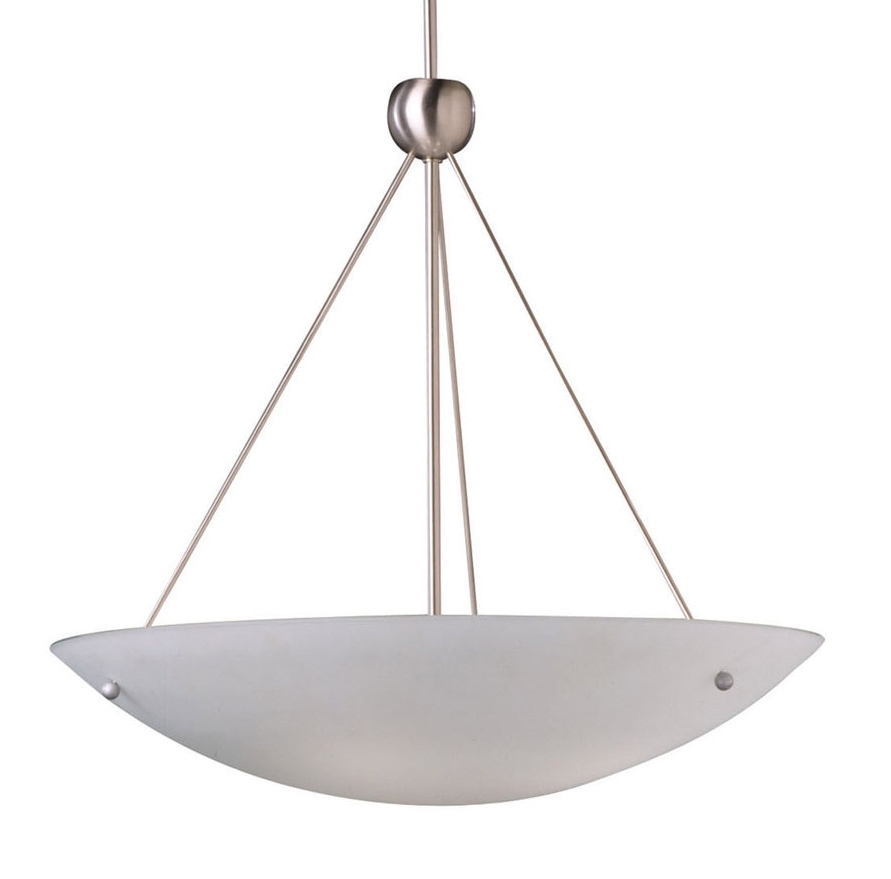 Inverted Pendant Chandeliers Inside Recent Beautiful Pendant Lighting Ideas Best Design Of Inverted Light Bowl (View 2 of 10)