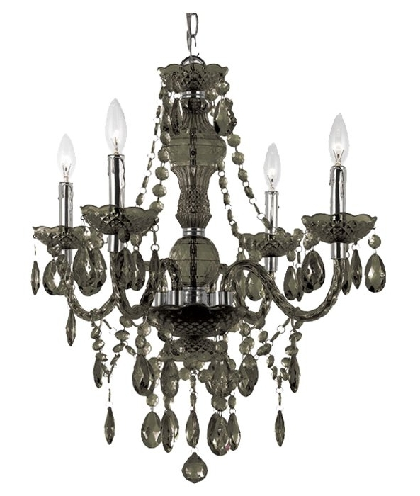 Joss & Main Inside Most Recently Released 4 Light Crystal Chandeliers (Gallery 5 of 10)