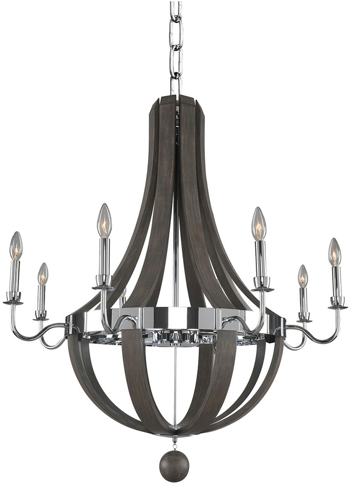 Kalco 300484Ch Sharlow Contemporary Chrome Chandelier Lighting – Kal For Most Up To Date Modern Chrome Chandelier (View 8 of 10)