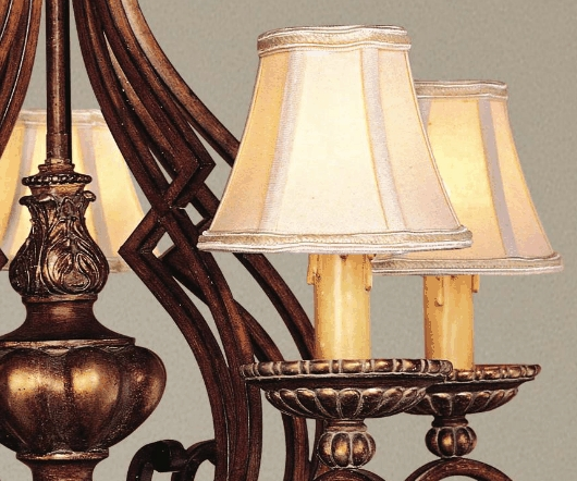 Lamps Plus With Regard To Latest Clip On Chandelier Lamp Shades (View 5 of 10)