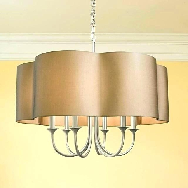 Lampshades For Chandeliers Pertaining To Most Up To Date Inspirational Lamp Shade Chandelier And Ideas Mini Lamp Shades For (View 7 of 10)