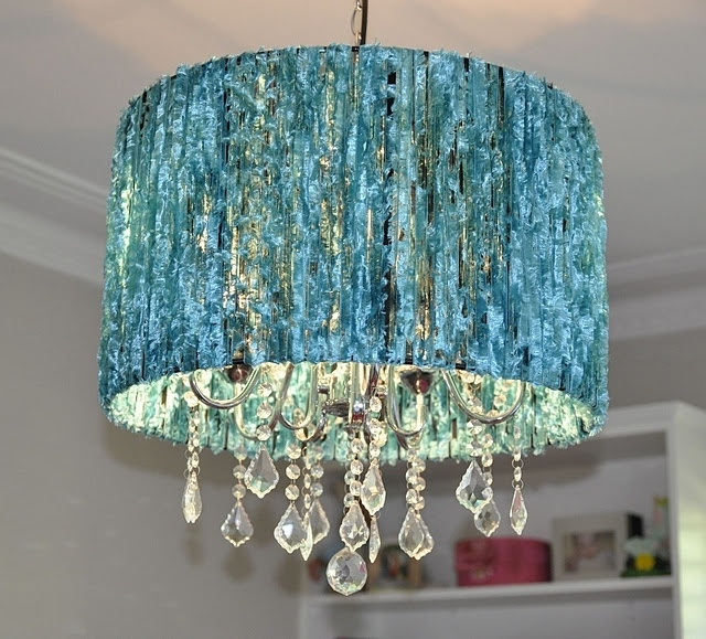 Featured Photo of Turquoise Chandelier Lamp Shades