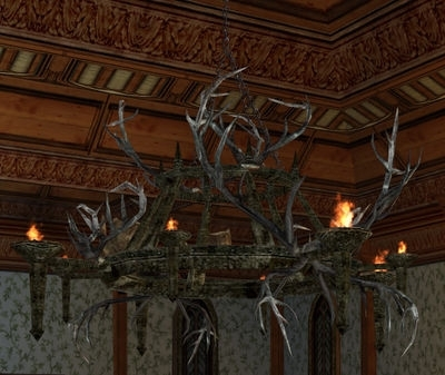 Large Antler Chandelier Regarding Latest Item:large Rohirric Antler Chandelier – Lotro Wiki (View 7 of 10)