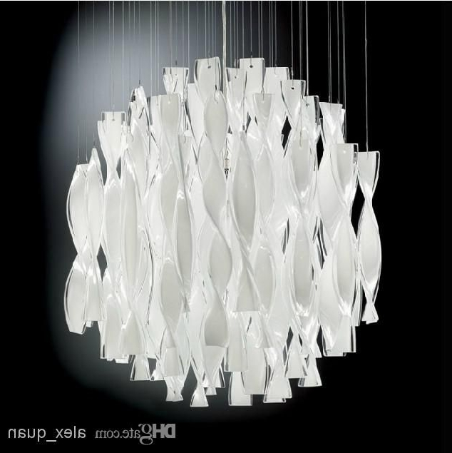 Large Chandeliers Modern With Favorite Hybrid Type Stair Large Chandelier Modern Glass Pendant Light (View 6 of 10)