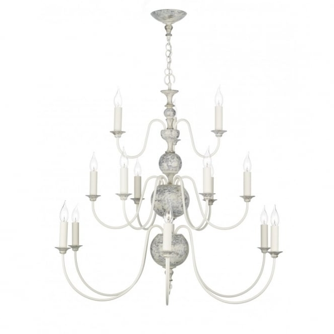 Featured Photo of Large Cream Chandelier