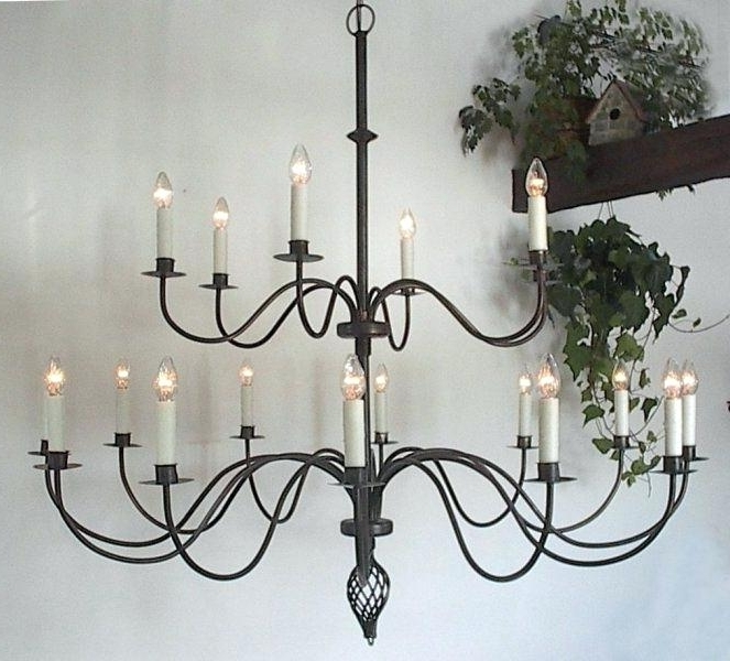 Large Iron Chandelier Within Most Current Large Iron Chandelier Large Metal Chandelier Frame – Pinkfolio (View 9 of 10)