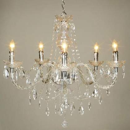 Latest Acrylic Chandeliers With Acrylic Chandelier Crystals – Buzzmark (View 5 of 10)
