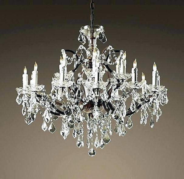 Latest Faux Crystal Chandelier Wedding Bead Strands With Faux Crystal Chandeliers – Stgrupp (View 8 of 10)
