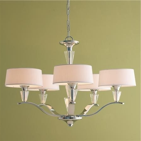 Latest Lampshade Chandeliers Within Home Design : Exquisite Lamp Shade Chandelier Chandeliers Small (View 4 of 10)