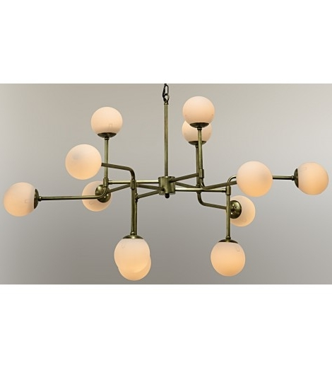 Latest Lorraine Globe Chandelier, Gold – Ceiling – Lighting Within Chandelier Globe (View 2 of 10)