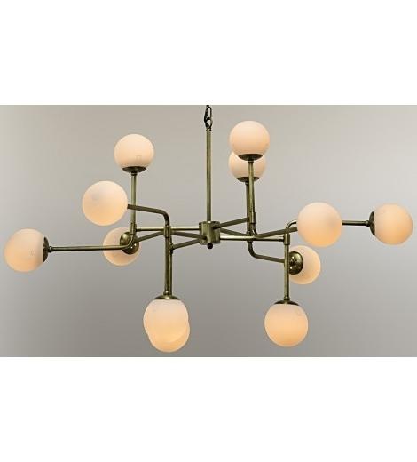 Latest Lorraine Globe Chandelier, Gold – Ceiling – Lighting Within Chandelier Globe (View 7 of 10)