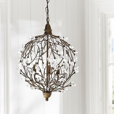 Latest Sphere Chandelier Pertaining To Romantic Sphere Chandelier (View 3 of 10)