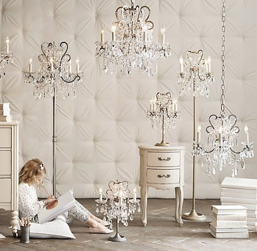 Latest Stand Up Chandeliers Inside Stand Up Chandelier – Design Decoration (View 4 of 10)