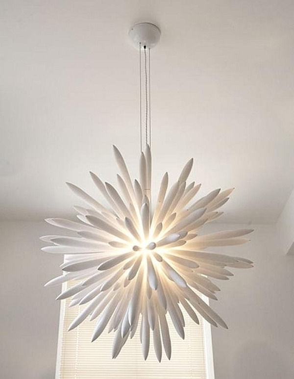 Latest White Contemporary Chandelier For Choosing The Right Chandelier: 18 Contemporary Ideas To Inspire (View 3 of 10)