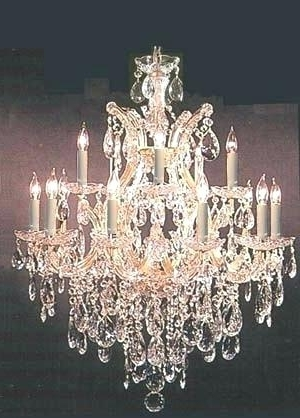 Lead Crystal Chandeliers – Tipsplus Regarding Most Popular Lead Crystal Chandeliers (View 4 of 10)