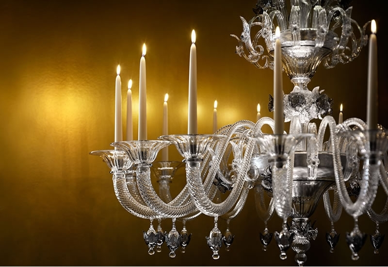 Led Candle Chandeliers Regarding Most Recently Released A Murano Glass Chandelier That Has The Best Of Both Worlds – Real (View 6 of 10)