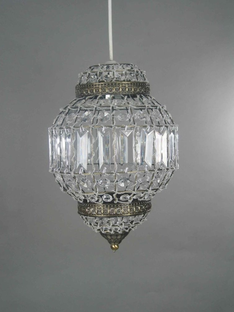 Light Fitting Chandeliers Regarding Best And Newest Moroccan Style Pendant Chandelier Shade Light Fitting Ceiling (View 6 of 10)